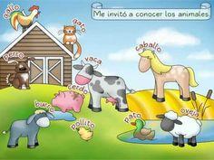 Preschool Spanish Lesson 3: Los animales de la granja - SPANISH MAMA