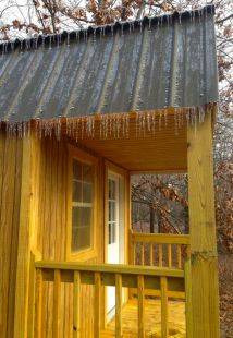 Wood Frame Cabin by smithk http://www.cabinbuilds.net/wood-frame-build-by-smithk