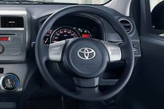 AGYA G Auto2000 Interior - steer
