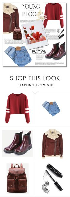 """""""Romwe 2"""" by emina-turic ❤ liked on Polyvore featuring Levi's, Dorothy Perkins, GUINEVERE, Anja and Bobbi Brown Cosmetics"""