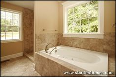 How to personalize a master bath.