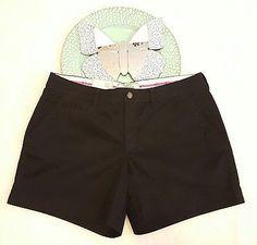 "NWT Womens Old Navy Perfect 5"" Shorts Size 10 Reg Black Khaki Chino NEW   eBay Shopping"