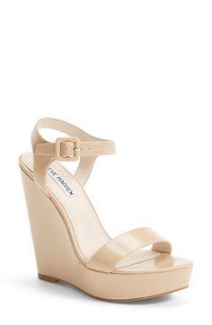 Steve Madden 'Prestine' Wedge Sandal (Women) available at #Nordstrom