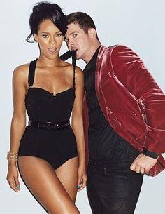 Rihanna and Robin Thicke