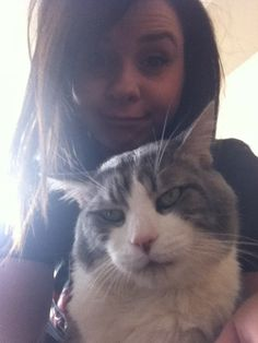Me and my cat luc #skywalker