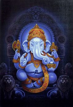Lord Ganesha is one of the most popular Hindu deity. Here are top Lord Ganesha images, photos, HD wallpapers for your desktop and mobile devices. Hindu Kunst, Hindu Art, Ganesha Drawing, Lord Ganesha Paintings, Ganesha Tattoo, Lord Murugan Wallpapers, Lord Vishnu Wallpapers, Ganesha Pictures, Ganesh Images