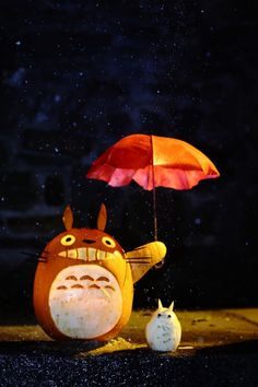 totoro and umbrella | Flickr - Photo Sharing!