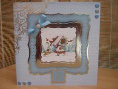Handmade Christmas Card - Cute Christmas Girl   Kibbs Cards MISI Handmade Shop