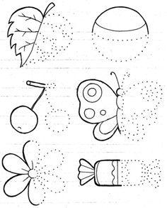 Развитие детей от 3-х до 4-х - Развиваем графические навыки » Развитие детей. Оригами, раскраски, развивающие игры, загадки