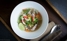 This Asian Noodle Soup is dairy, gluten and grain free and one of the most nutritious and nourishing meals about.