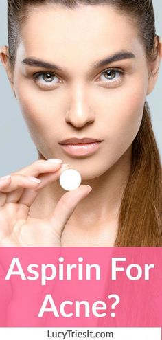 Out of all the uses for aspirin, I bet you didn't think you could add acne treatment to the list! Aspirin can be used as a very effective DIY acne face mask to bring down inflammation…More Aspirin Face Mask, Acne Face Mask, Diy Face Mask, Aspirin For Acne, Natural Acne Remedies, Home Remedies For Acne, Vinegar For Acne, Back Acne Treatment, Beauty Hacks For Teens