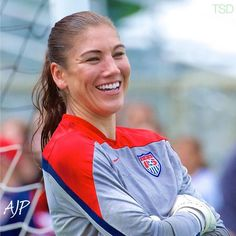 Hope Solo, training, Cary, N.C., Aug. 19, 2014. (Twitter)
