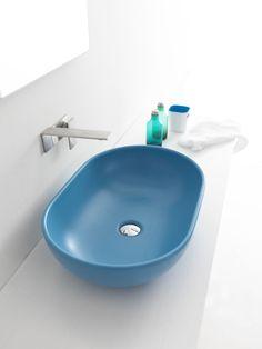 #aliceceramica blue sink