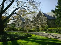 Must Love Stone for this Classic Long Island Gold Coast Estate. Donna this is for you, find your king.lol