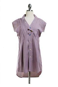 Refashioned Women's Shirt by ReMadeInLA on Etsy, $58.00