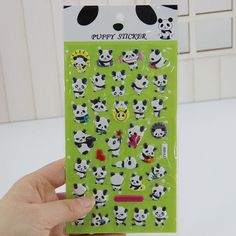 1 pcs Cute Panda 3D Bubble Sticker Decoration Decal DIY Diary Album Scrapbooking Kawaii Stationery Post It #>=#>=#>=#>=#> Click on the pin to check out discount price, color, size, shipping, etc. Save and like it!