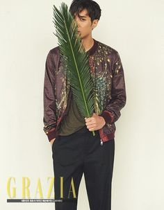 Kim Ji Suk is naturally masculine for 'Grazia' | Koogle TV