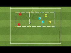 (2v1 + 2v1) - Ball Possession Soccer Coaching, Soccer Training, Soccer Season, Youtube, Sports, Soccer, Soccer Drills, Hs Sports, Football Workouts