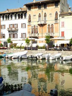 lively town of Desenzano, Garda Lake, Italy a Brescia Lombardy