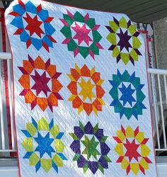 Jedi Knits: Swoon Quilt good reference for color