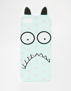 ASOS Polka Dot Monster Jelly iPhone 5 Case with Ears