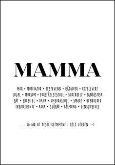 En morsom oversikt over mammarollen - Plakatbar. Company Logo