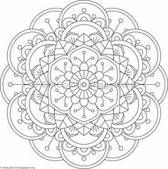 Flower Mandala Coloring Pages Mandala Art, Mandala Design, Mandala Drawing, Mandala Painting, Mandala Pattern, Dot Painting, Mosaic Patterns, Star Coloring Pages, Printable Adult Coloring Pages