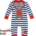 Piccalilly Bear Playsuit