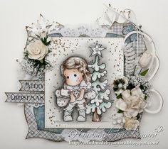 Handmade by Tamara...what a gorgeous card!!