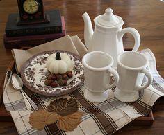Fall Tea Tray