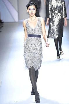 See the complete Monique Lhuillier Fall 2008 Ready-to-Wear collection.