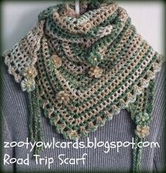 Road Trip Scarves: Pattern