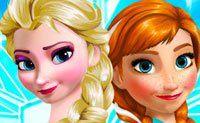 Frozen Zusjes Aankleden