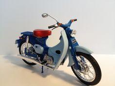 Honda SUPER CUB C100 (Fujimi 1/12 bike series #1)