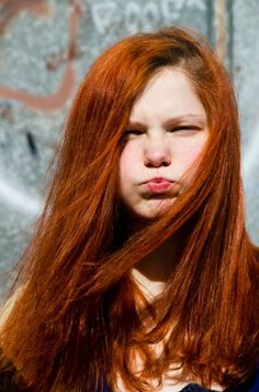 red haired kid