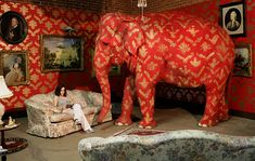 Can You Spot the Elephant? (viaffffound)