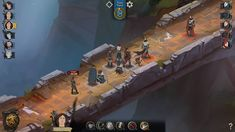 Niche Spotlight - Ash of Gods: Like Banner Saga But With Less Horns - Niche Gamer Eve Online, Game Environment, Environment Concept, Nintendo Switch, Banner Saga, Turn Based Strategy, Sense Of Life, Fantasy Authors, Game Interface