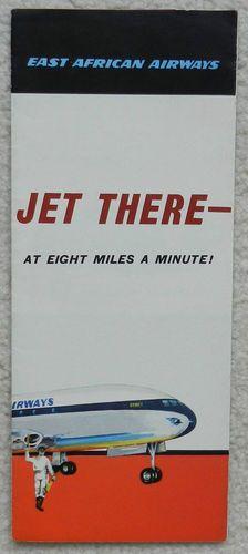 East African Airways Comet 4 Brochure