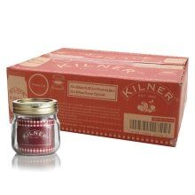 12 x Kilner Screw Top Lid Air Tight Round Preserving Glass Jars 0.25L 0025.402: Amazon.co.uk: Kitchen & Home