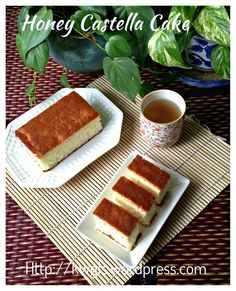 Homemade Japanese Honey Sponge Cake–Castella or Kasutera (カステラ, 长崎蛋糕)  #guaishushu   #Kenneth_goh  #castella #kasutera #长崎蛋糕 #カステラ