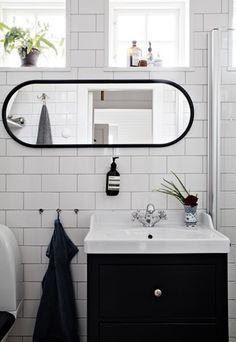 Lundin Fastighetsbyrå - Kålltorp - i toppskick My Dream Home, Double Vanity, Mirror, Bathroom, Modern, House, Furniture, Basement, Home Decor