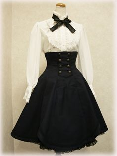 A little change here and there, and my dress steampunk dress!