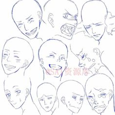 Read Expresiones Faciales II from the story Referencias Para Dibujos by jelly_jeongguks (I'm a Creep) with reads. Drawing Face Expressions, Drawing Expressions, Facial Expressions, Manga Drawing Tutorials, Art Tutorials, Drawing Base, Figure Drawing, Boca Anime, Anime Drawings Sketches