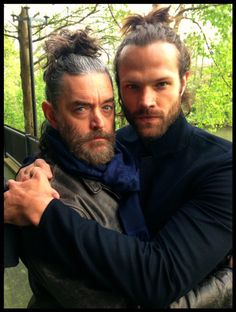 Timothy Omundsom and Jared Padalecki