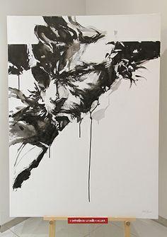 Yoji Shinkawa - 'The Art of Yoji Shinkawa' exhibition Live painting