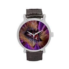 Eye flower wrist watches