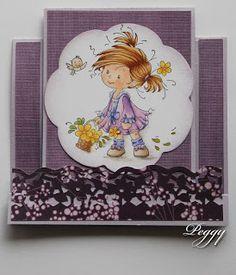 Mijn Droomkaartenhuis: Whimsy Wee center fold card