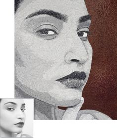 If It's Hip, It's Here: Pieces Of You. Tasteful Custom Mosaic Portraits by Sicis.