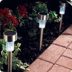 stainless steel led solar yard light - Solar Yard Lights