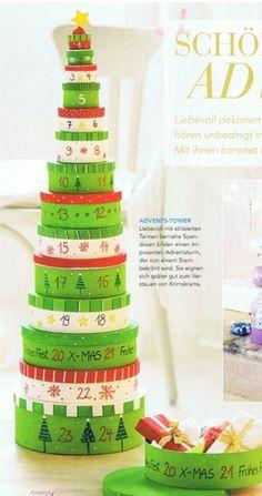 24 idées pour un calendrier de l'avent fait maison - Maman du Var